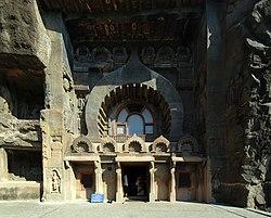 Ajanta cave no. 9 2010.jpg