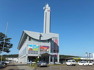Akita Asahi Broadcasting - Akita Asahi Broadcasting, headquarters