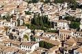 Albaizin, part, from Alhambra, Granada, Andalusia, Spain.jpg