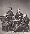 Albert, Joseph - Justus von Liebig mit Freunden im Atelier Albert (Zeno Fotografie).jpg