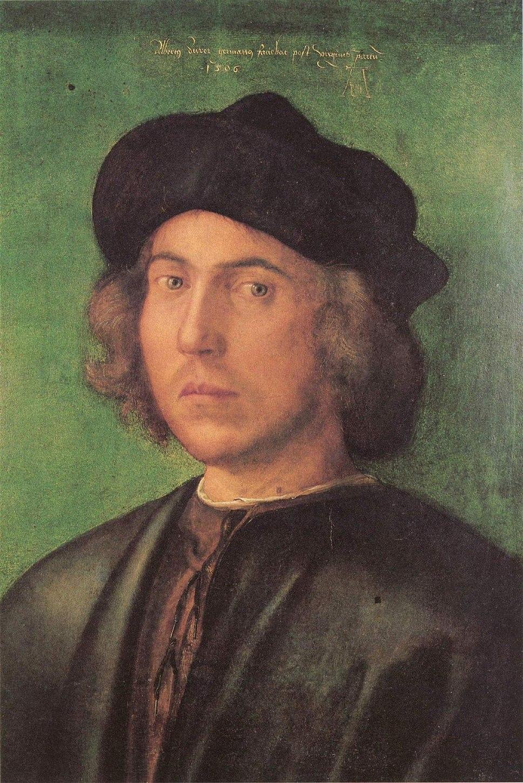 Albrecht Dürer - Portrait of a Young Man - Palazzo Rosso Genoa