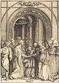 Albrecht Dürer - The Betrothal of the Virgin (NGA 1943.3.3579).jpg