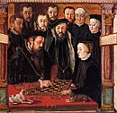 Albrecht and Anna playing chess.jpg