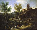 Alessandro Magnasco - Landscape with Gypsies and Washerwomen - 50.63 - Indianapolis Museum of Art.jpg