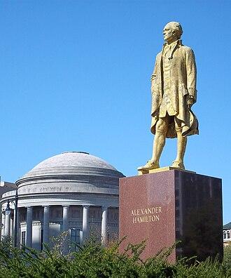 John Angel (sculptor) - Alexander Hamilton