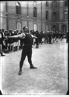 Alexandre Maspoli French sculptor and athletics competitor