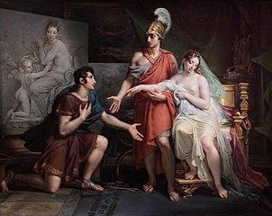 Alexandre le Grand cédant Campaspe à Apelle