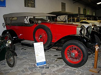 Alfa Romeo RL - Alfa Romeo RLSS (1925) with Lucas body from Barcelona