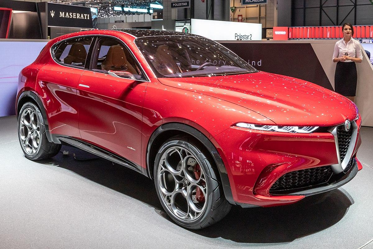 Alfa Romeo Tonale Concept - Wikipedia