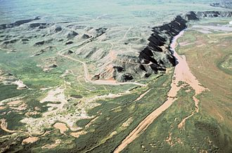 Antelope Creek phase - The Canadian River and the Alibates Flint Quarries National Monument. The Antelope Creek People lived mostly on terraces overlooking the river or in side canyons with springs.