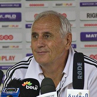 Kosovo national football team - Bernard Challandes, the current manager of the Kosovo national football team.
