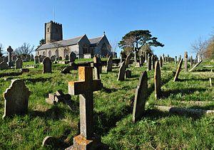 Highweek - The church and its graveyard