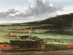 Allaert van Everdingen: Hendrik Trip's Cannon Foundry in Julitabruk, Sweden