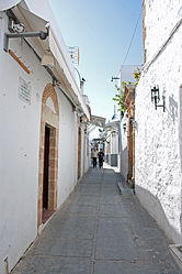 Alley in Lindos, Rhodes 3.jpg