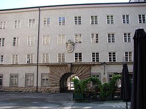 Alma Mater Europaea - Image: Alma Mater Europaea Salzburg