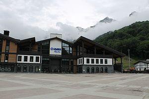 Krasnaya Polyana, Sochi, Krasnodar Krai - Bottom station Alpika Service