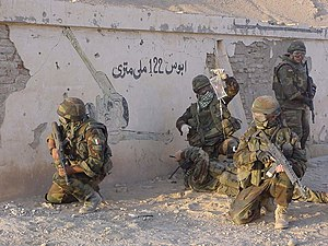 4th Alpini Paratroopers Regiment - Alpini of the 4th Alpini regiment in Afghanistan