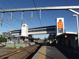 Altandi railway station railway station in Brisbane, Queensland, Australia