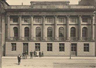 Det Classenske Fideicommis - The Classen Library building at 38 Amaliegade in Copenhagen