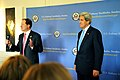 Ambassador Brzezinski Introduces Secretary Kerry to Embassy Stockholm Staff and Families (8737515515).jpg