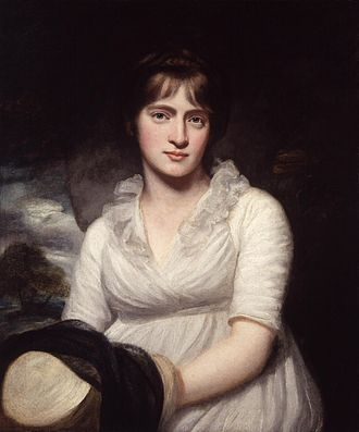 Amelia Opie - A 1798 portrait of Amelia Opie by her husband, John Opie