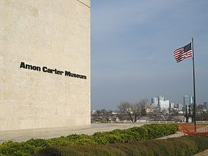 English: Amon Carter Museum in Fort Worth, Texas