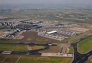 airport in Haarlemmermeer, Netherlands