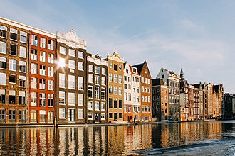 North Holland - Damrak, Amsterdam