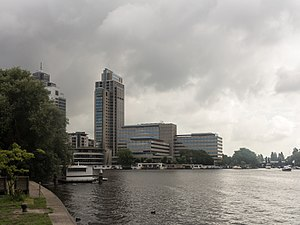 Delta Lloyd Group - Image: Amsterdam Amstel, kantoorgebouw Delta Lloyd Vastgoed foto 6 2015 08 28 11.17