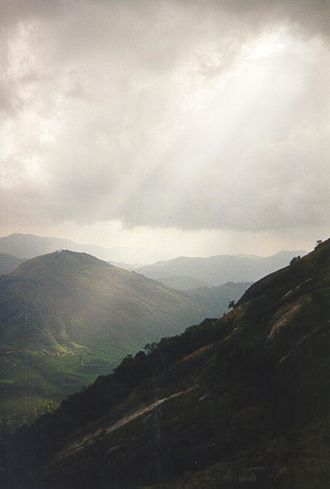 Idukki district - the highest peak in south India