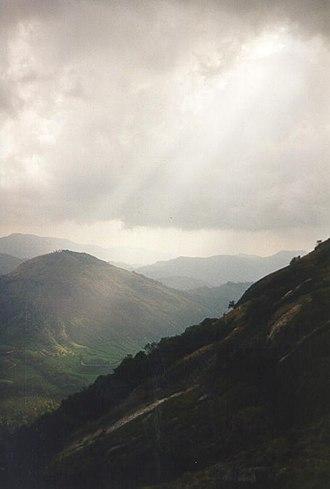 Idukki district - the highest peak in south India