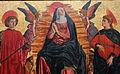 Andrea del castagno, ascensione di maria tra i ss. giuliano e miniato, 1449-50 ca. 04.JPG