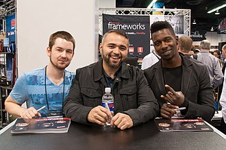 Animals as Leaders - Image: Animals As Leaders 2014 NAMM Show