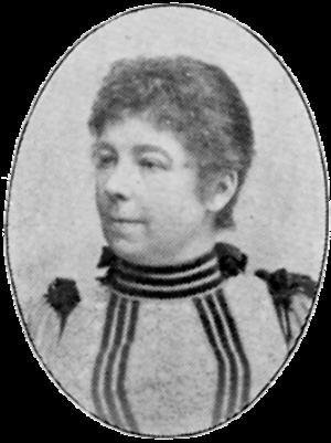 Anna Gardell-Ericson - Anna Gardell-Ericson from the Svenskt Porträttgalleri XX (1901)
