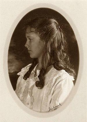 Anne Morrow Lindbergh - Anne Spencer Morrow, 1918
