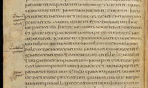 Fragmentarium - Florus de Lyon fragment, Bibliothèque de Genève, Ms. lat. 16