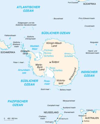antarktis karte Antarktis – Wikipedia antarktis karte