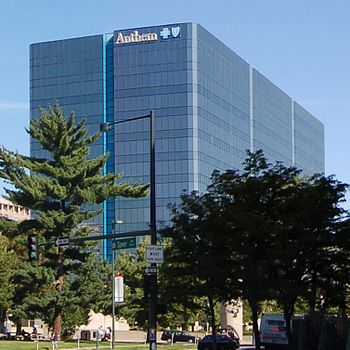 Anthem Blue Cross-Blue Shield office in Denver.