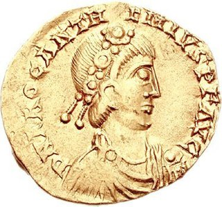 Anthemius Roman emperor from 467 to 472