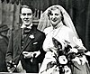 Anthony Powell with Violet on their wedding day in 1934.jpg