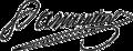 Antoine Parmentier signature.png