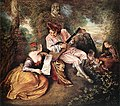 Antoine Watteau - 'La gamme d'amour' (The Love Song) - WGA25457.jpg