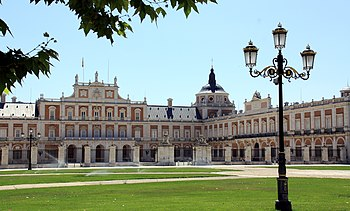 English: Aranjuez, Palacio Real (Royal Palace)