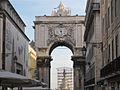 Arch in Rua Augusta leading to Praca do Comerico.jpg