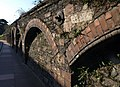 Arches in retaining wall, Rathmore Road, Torquay - geograph.org.uk - 1745240.jpg