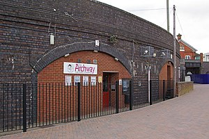 Archway Theatre - Front Entrance of Archway Theatre, Horley