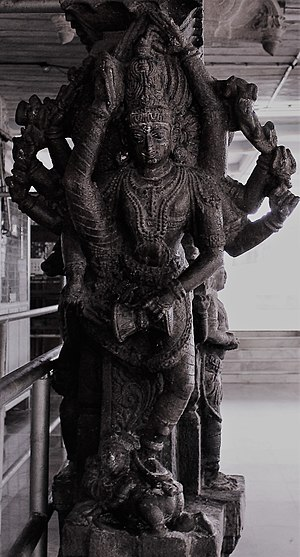 Ardhanareeswarar temple, Tiruchengode - Image: Ardhanareeswarar temple, Tiruchengode (12)