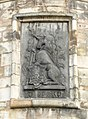 Arms of James V, Holyrood Palace north-west tower (geograph 3774842).jpg