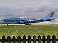 Arrival in the morning in Montreal of Air China B747-400 with the Chinese Prime Minister on board - panoramio - Jiaqian AirplaneFan.jpg