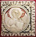 Arte carolingia del nord-italia, formelle con angelo simbolo di san matteo, 790-810 dc ca.jpg